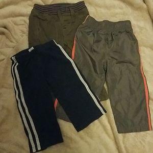 Lot of 3 boys size 18 mos pants